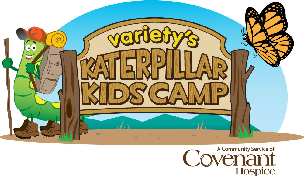 Katerpillar Kids Camp is a special weekend day camp for children grades 1-12 who are grieving the death of a loved one.