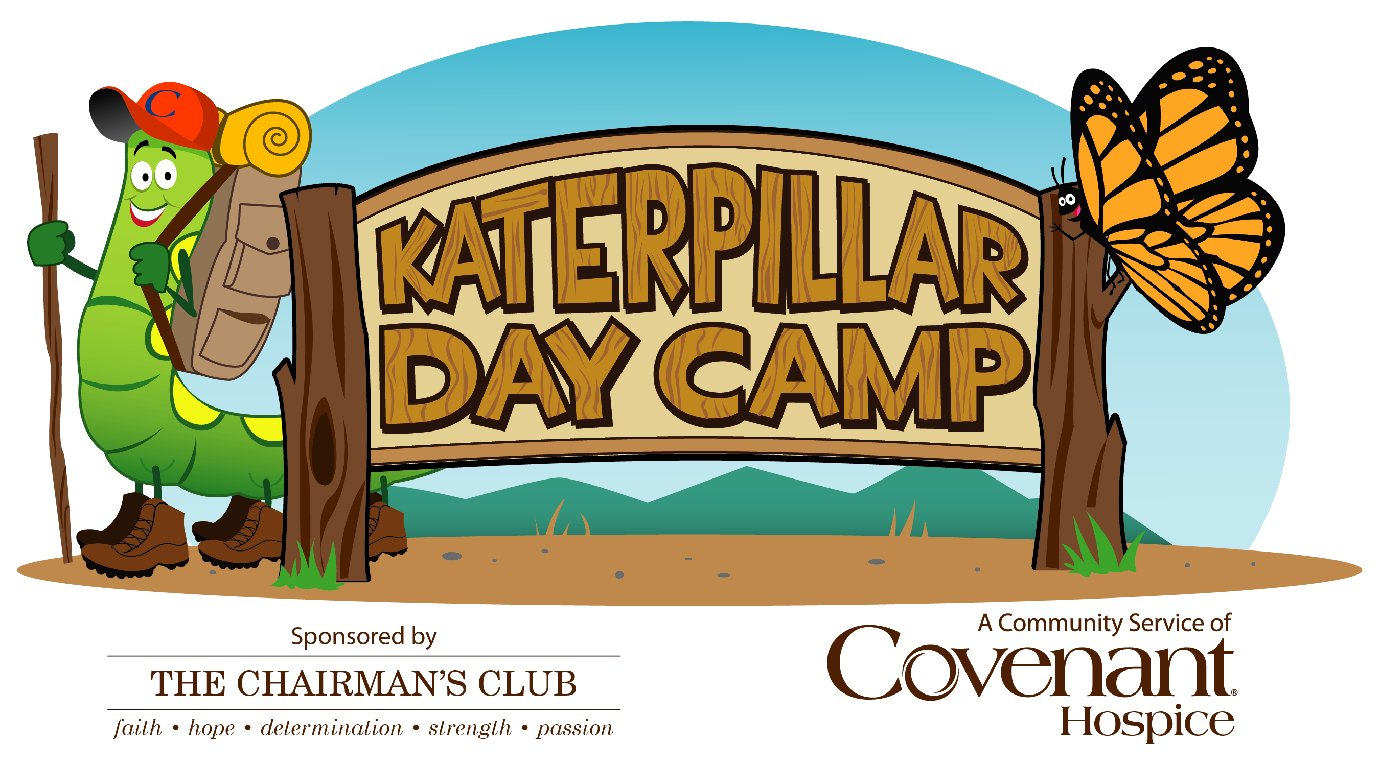 Katerpillar Day Camp logo